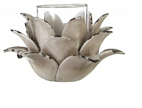 Prime Furnishing Complements Light Grey Lotus