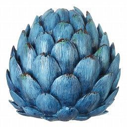 Prime Furnishing Complements Artichoke Vase - Turquoise