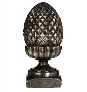 Prime Furnishing Complements Antique Acorn - Silver