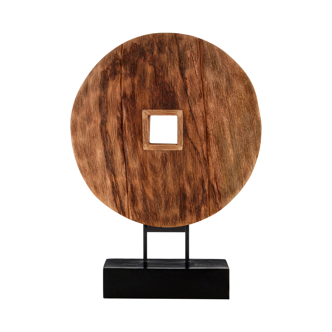 Prime Furnishing Complements Disc On Stand Wooden