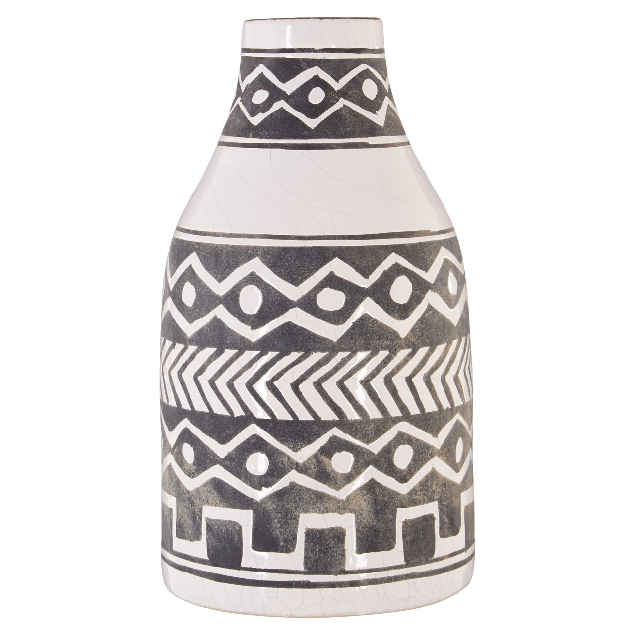 Complements Primo Mono Tribal-style Vase