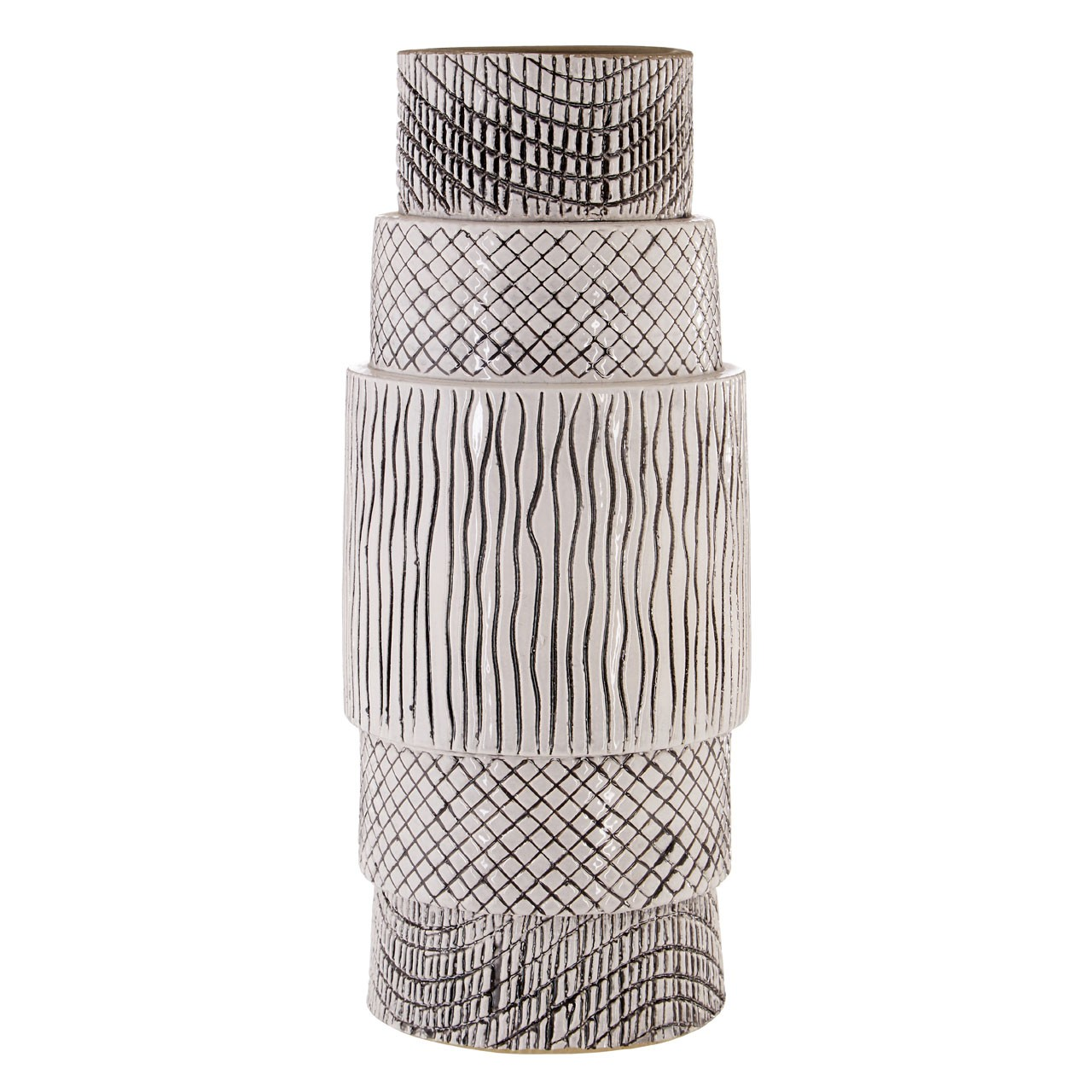 Complements Mono Vase Stylish For Home Office
