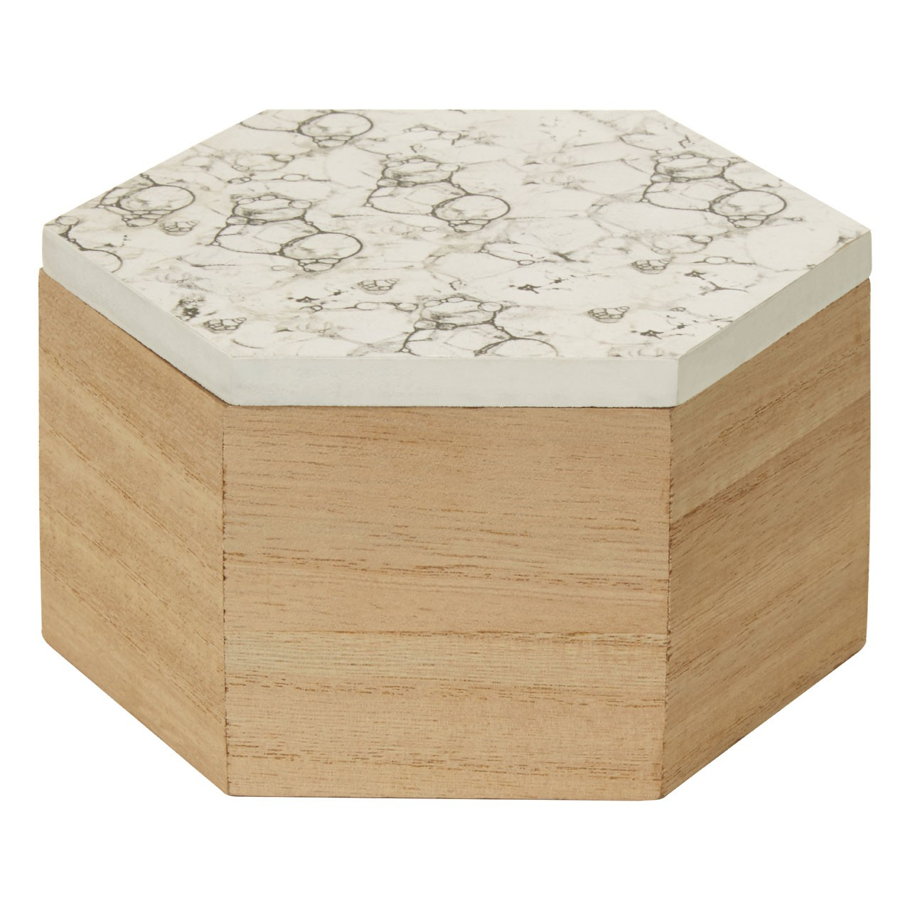Mimo Hexagonal Trinket Box