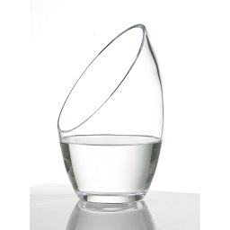 Prime Furnishing Vase, Clear Glass