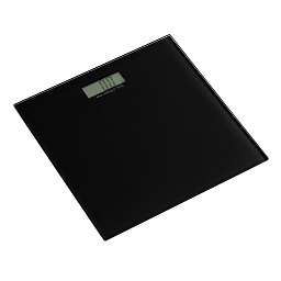 Prime Furnishing Tempered Glass Bathroom Scale - Black