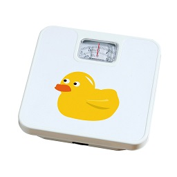 Prime Furnishing Bathroom Scale, Yellow Duck