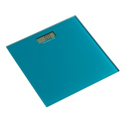 Prime Furnishing Tempered Glass Bathroom Scale - Turquoise