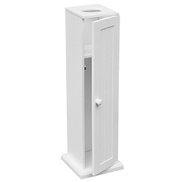 Toilet Paper Cabinet - White