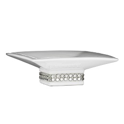 Prime Furnishing Radiance Soap Dish - White