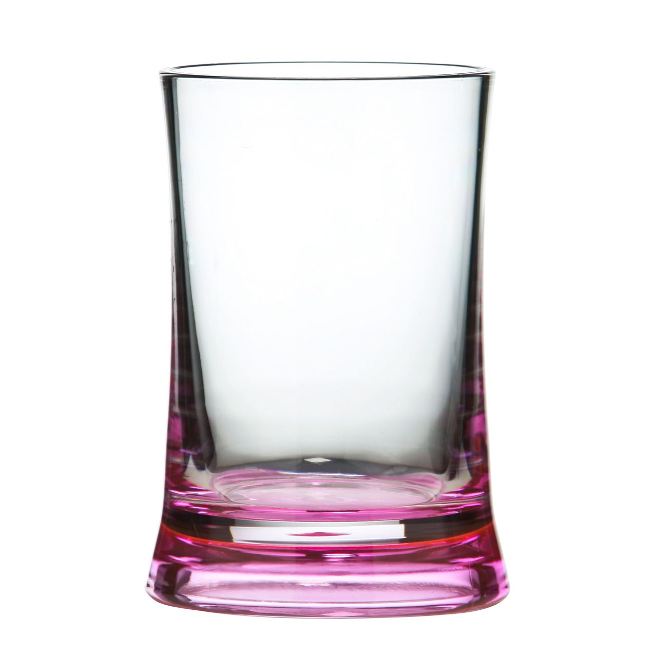 Acrylic Tumbler - Hot Pink/Clear