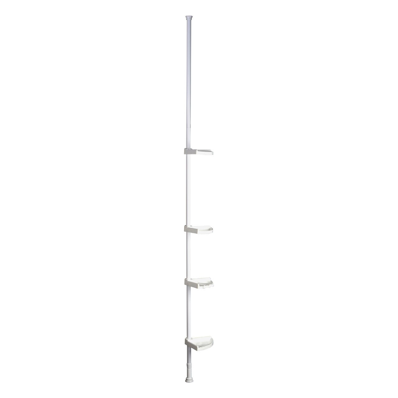 Prime Furnishing 4-Tier Corner Shelf - White