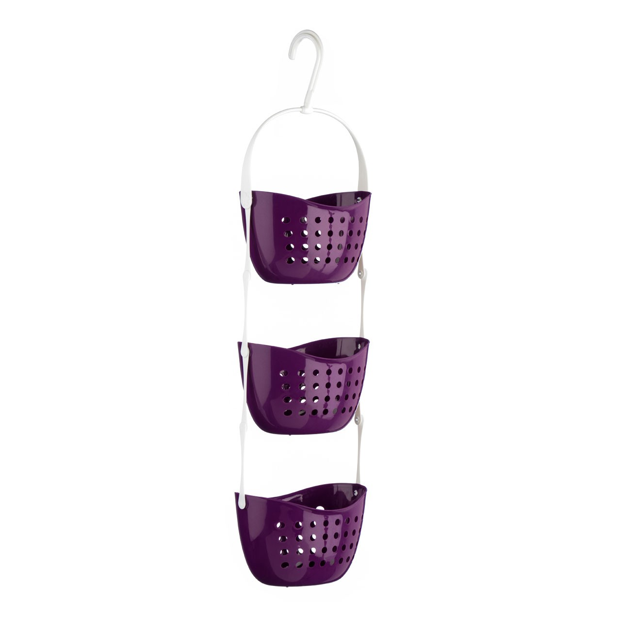Prime Furnishing 3-Tier Shower Caddy - Purple