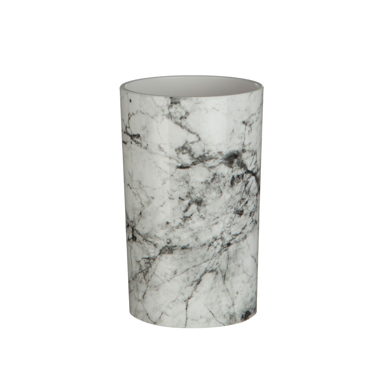 Prime Furnishing Rome Marble Effect Tumbler, ABS Plastic
