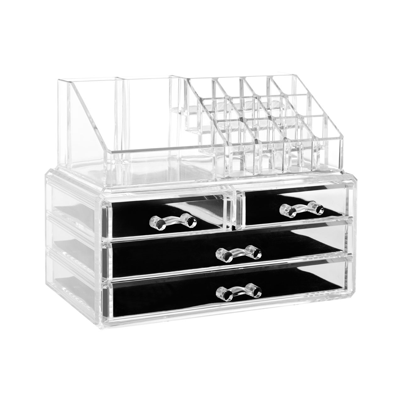 Prime Furnishing 16 Compartment Cosmetics Organiser