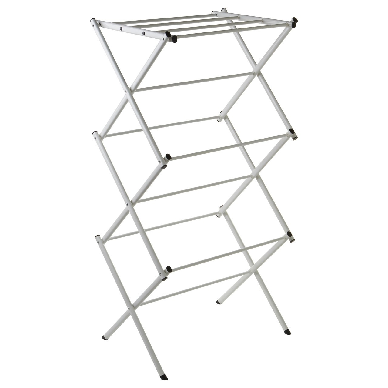 Prime Furnishing 3-Tier Folding Clothes Dryer- White