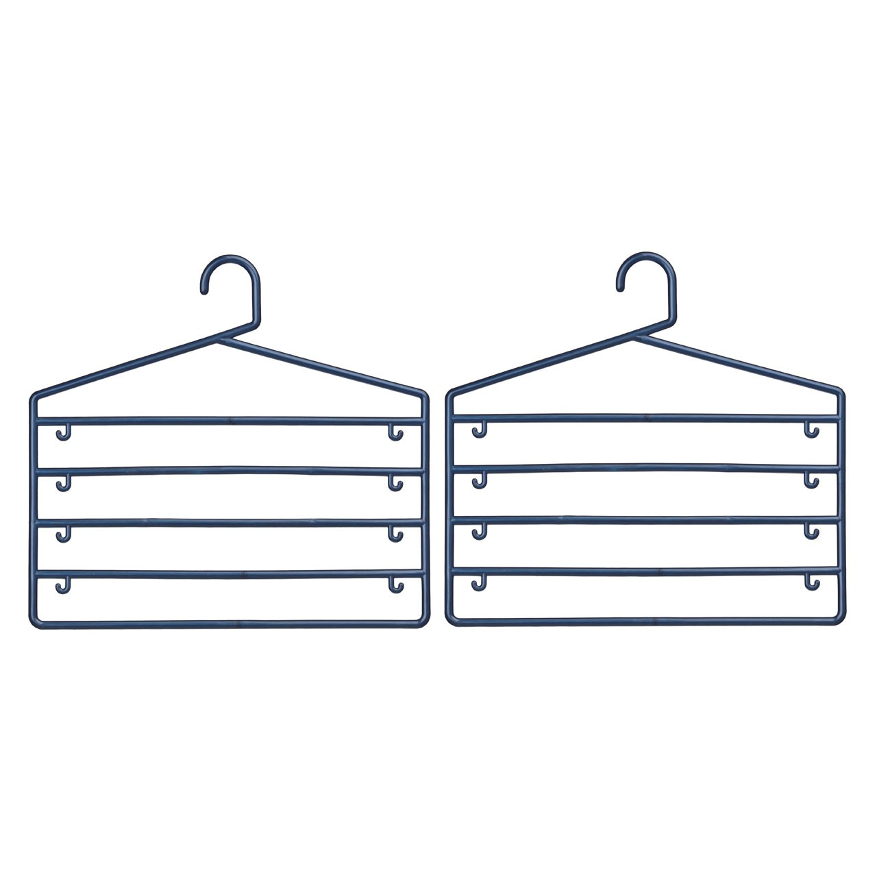Prime Furnishing Trouser Organiser - Indigo - Set of 2