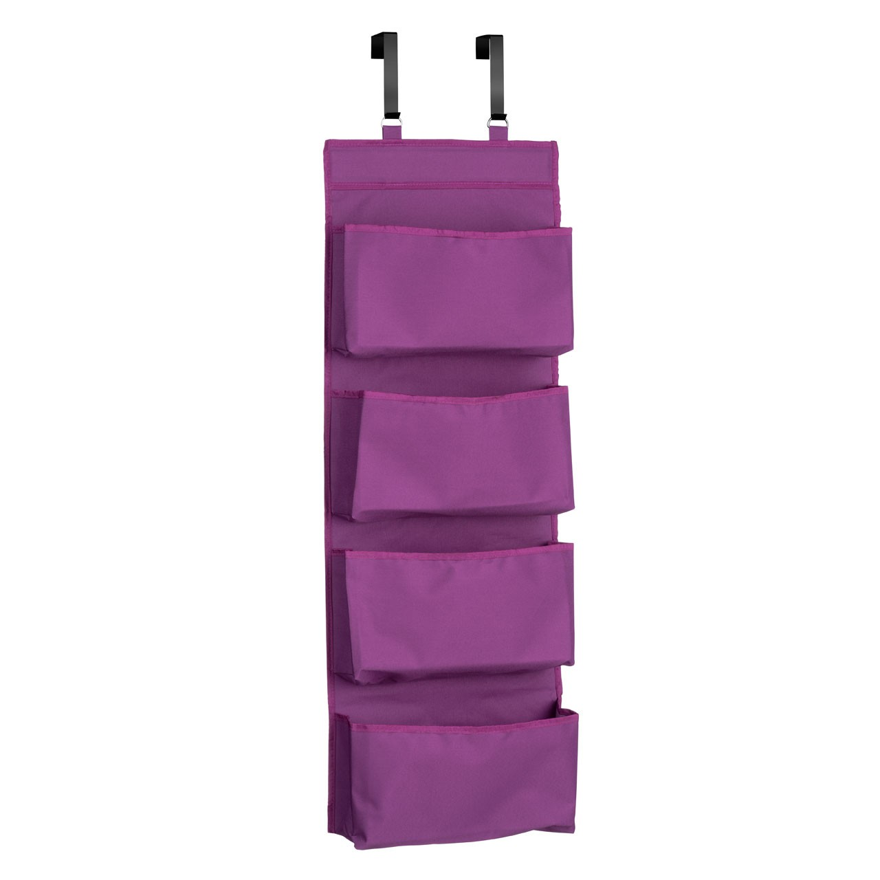 Prime Furnishing 4-Tier Over Door Hanging Organiser - Purple