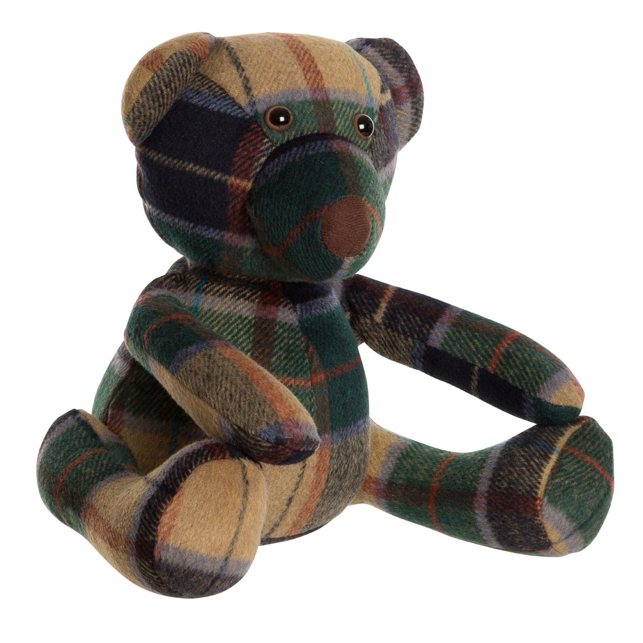Prime Furnishing Heritage Bear Door Stop - Green