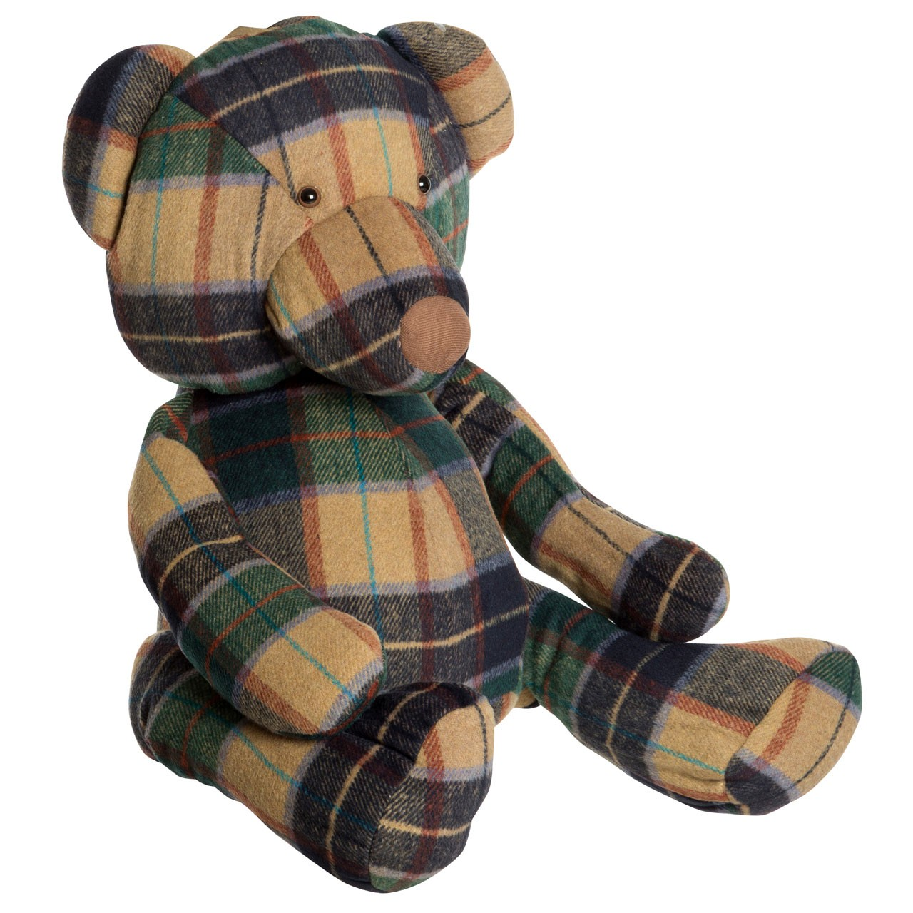 Prime Furnishing Heritage Bear Door Stop - Large, Green
