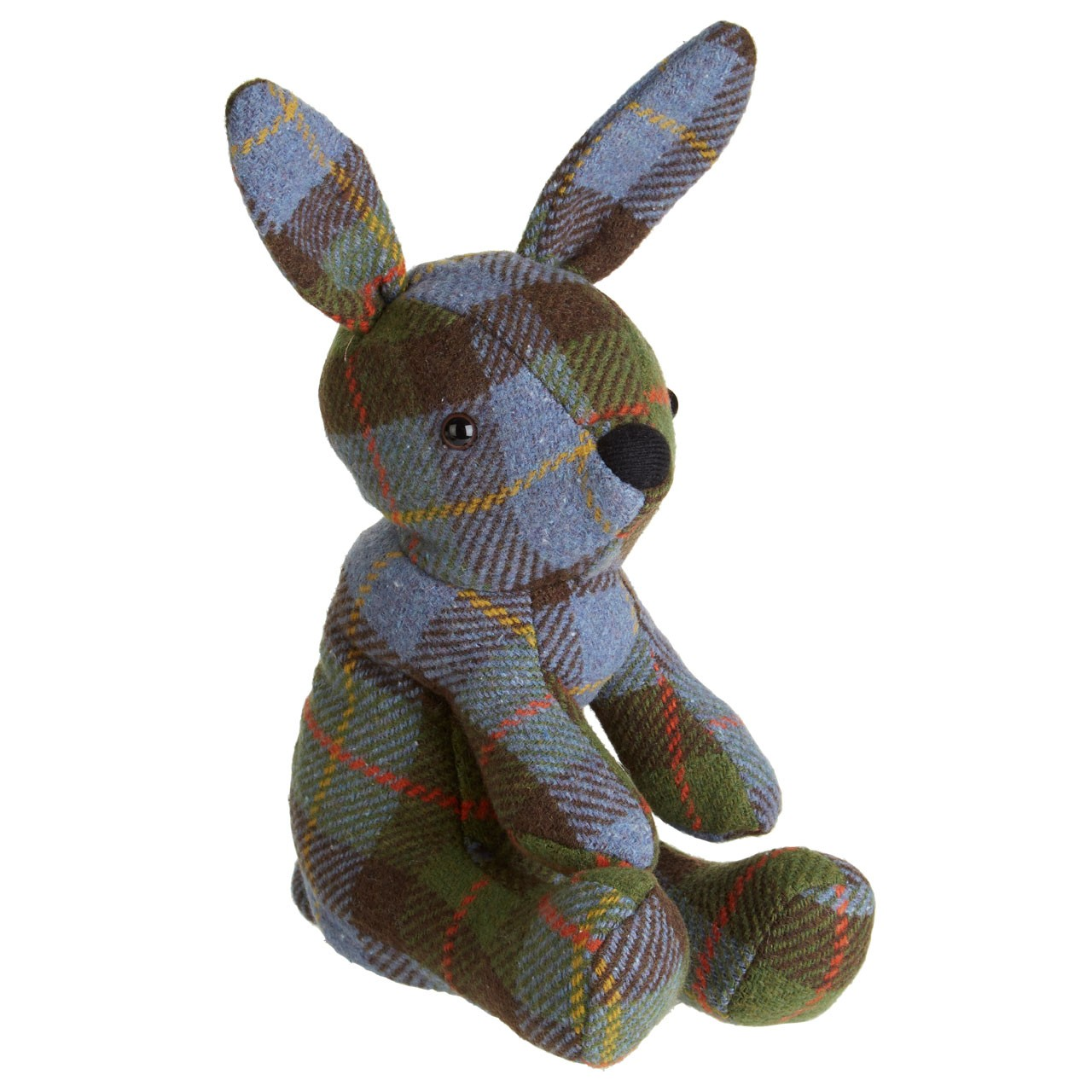 Prime Furnishing Heritage Rabbit Door Stop, Polyester - Green Ch