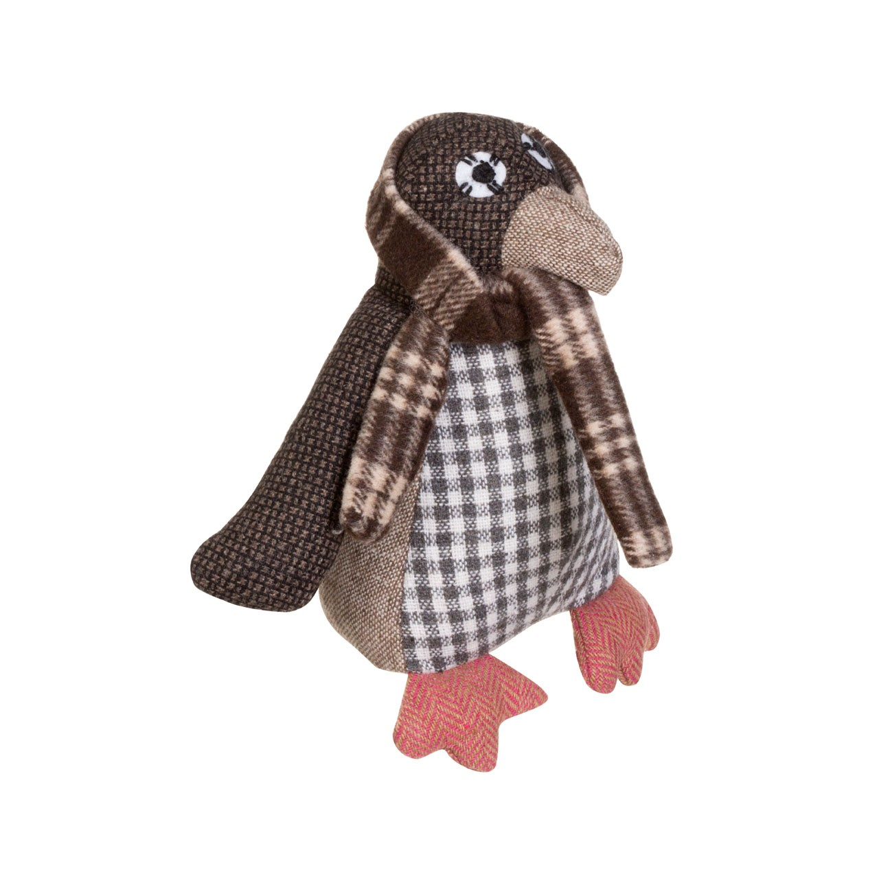 Prime Furnishing Heritage Large Penguin Door Stop - Brown