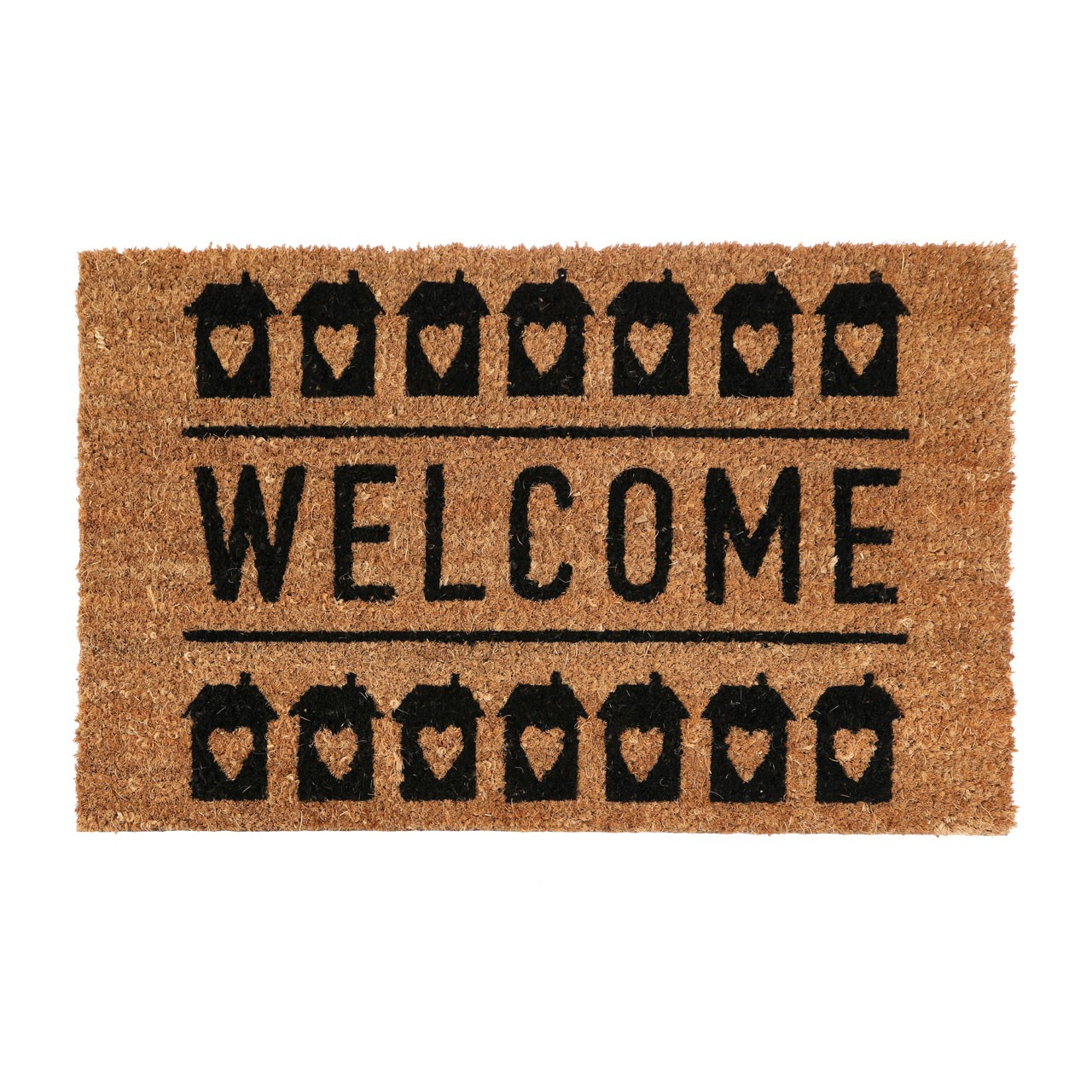 "Prime Furnishing ""Welcome"" Doormat, PVC Backed Coir"