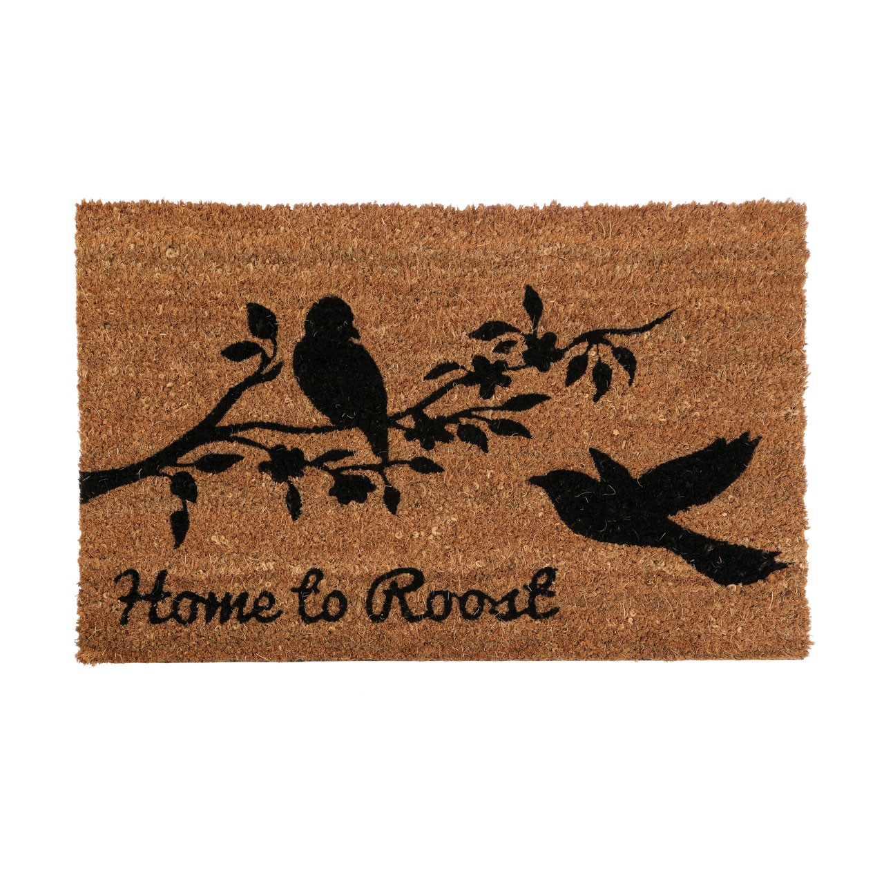 "Prime Furnishing ""Home To Roost"" Doormat, PVC Backed Coir"