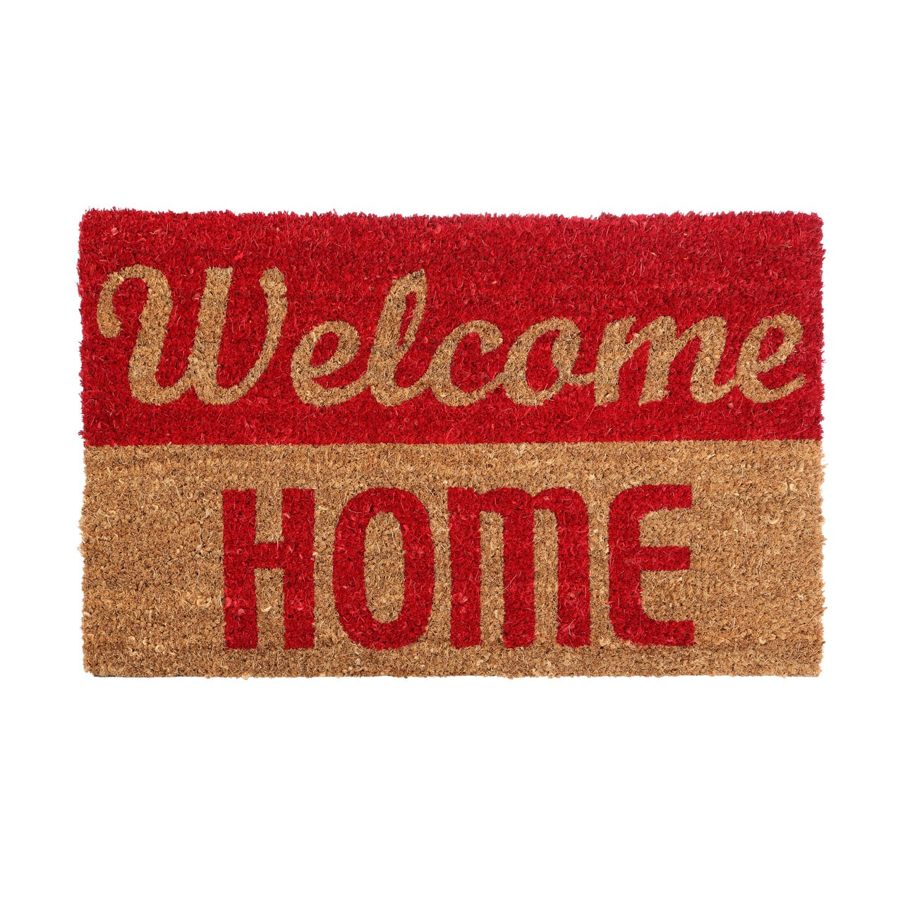 "Prime Furnishing ""Welcome Home"" Doormat, PVC Backed Coir"