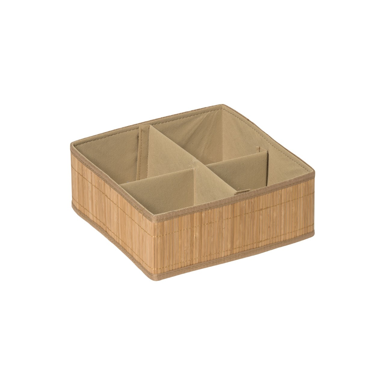 Prime Furnishing Kankyo 4 Sections Storage Box - Natural
