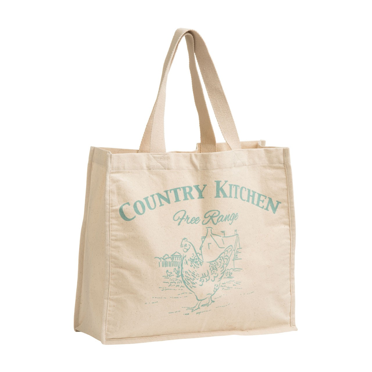 Country Kitchen Shopping Bag Cotton Canvas