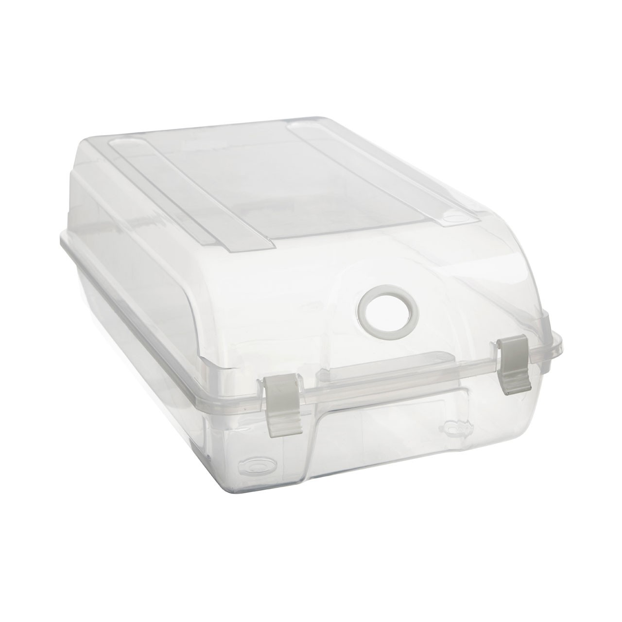 Prime Furnishing Mens Shoe Box - Clear
