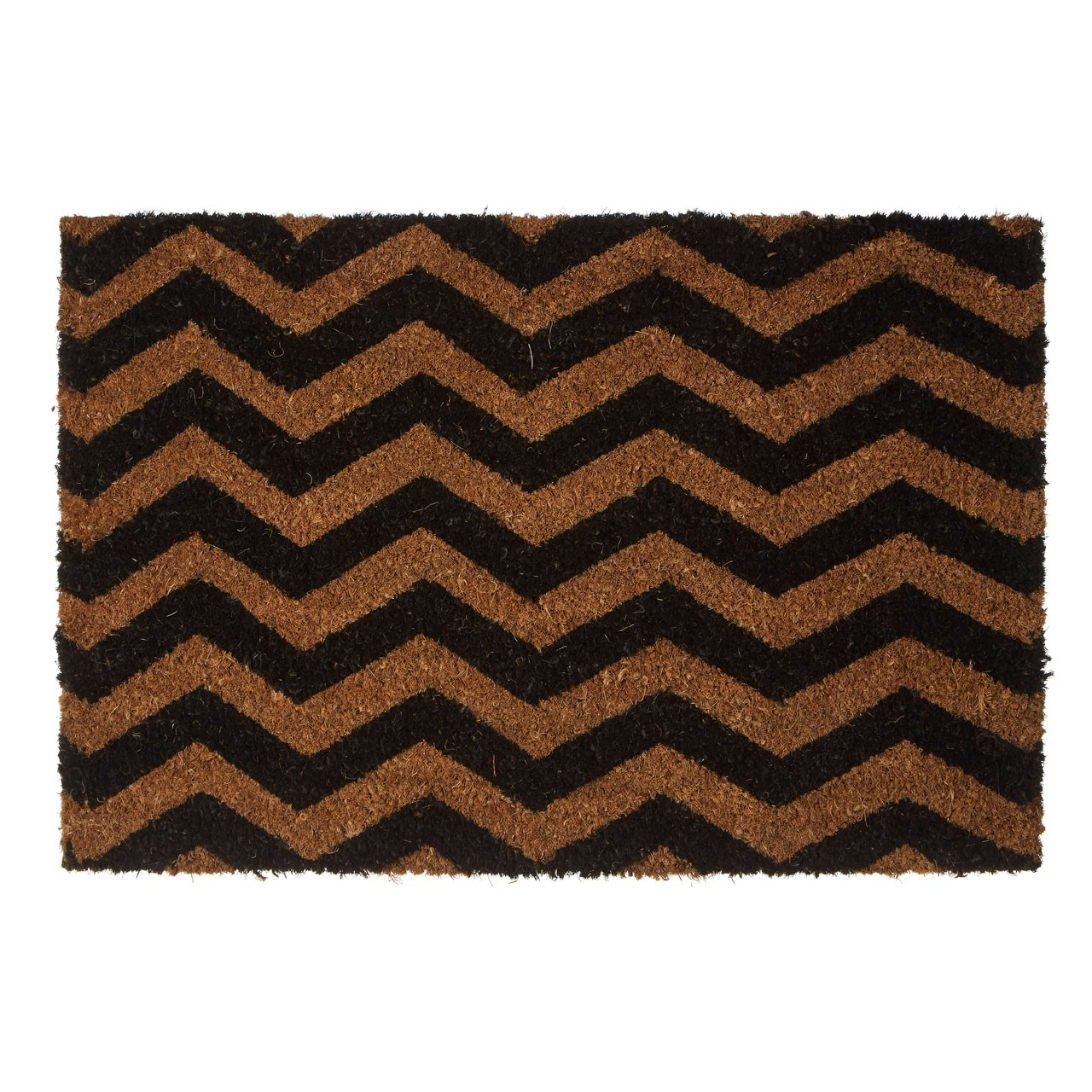 Prime Furnishing Chevron Doormat, PVC Backed Coir
