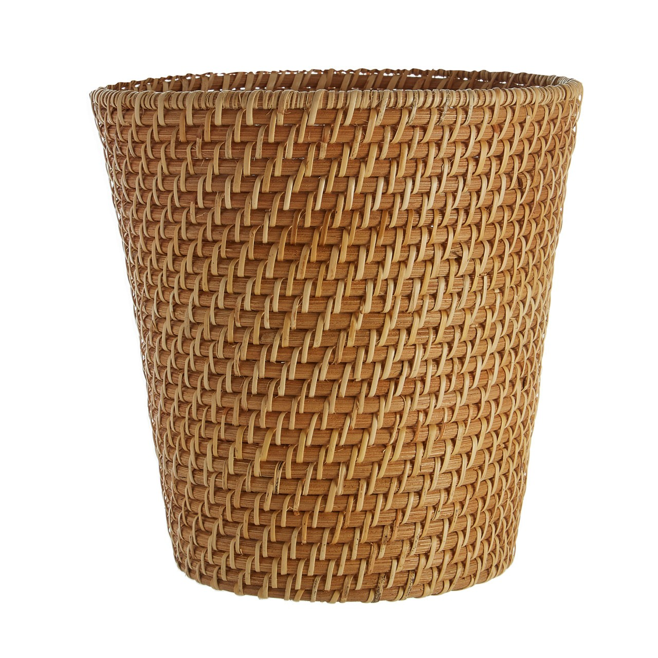 Complements Waste Basket Natural Rattan