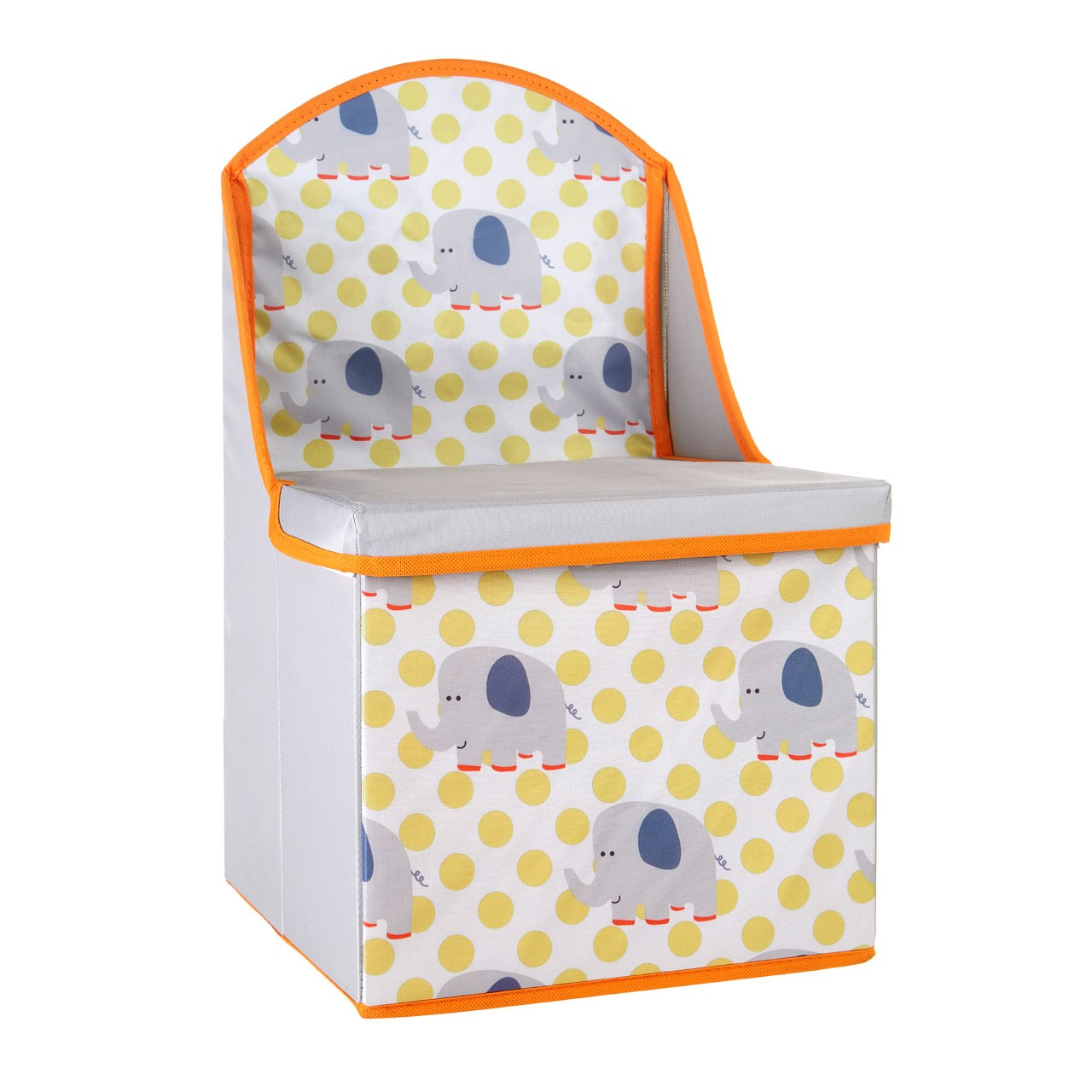 Prime Furnishing Children's Elephant Design Storage Box/Seat