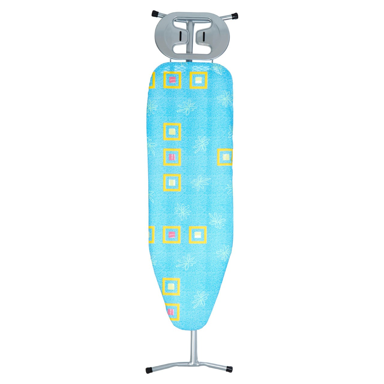 Prime Furnishing Ironing Board, Metal Frame/Blue Squares Cover
