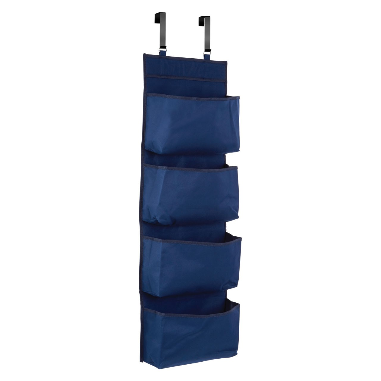 Prime Furnishing 4-Tier Over Door Hanging Organiser - Dark Blue