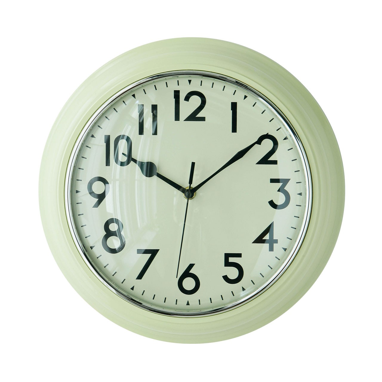 Kitchen Wall Clock - Cream