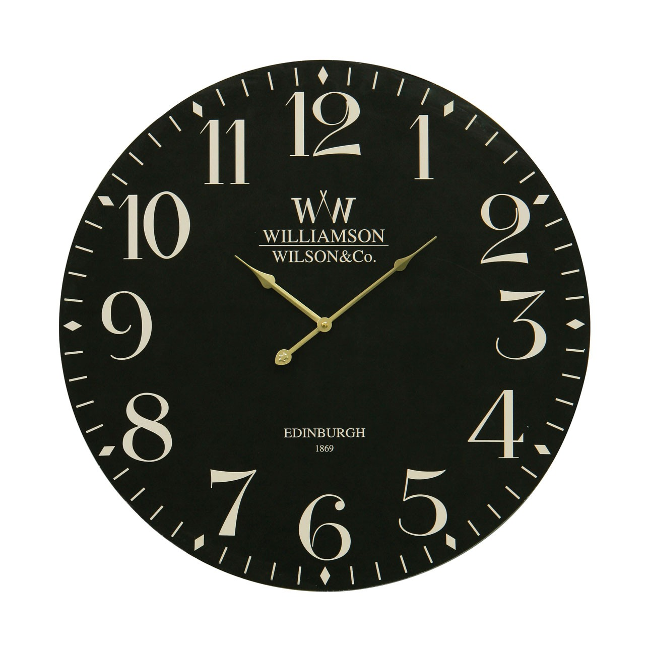 Classical Wall Clock - Black