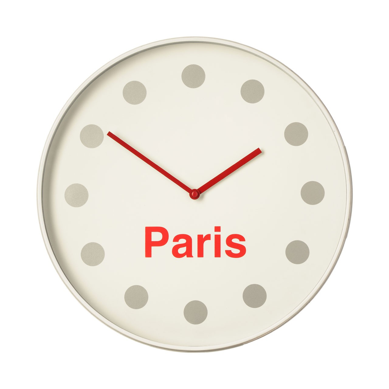 Prime Furnishing Paris Wall Clock