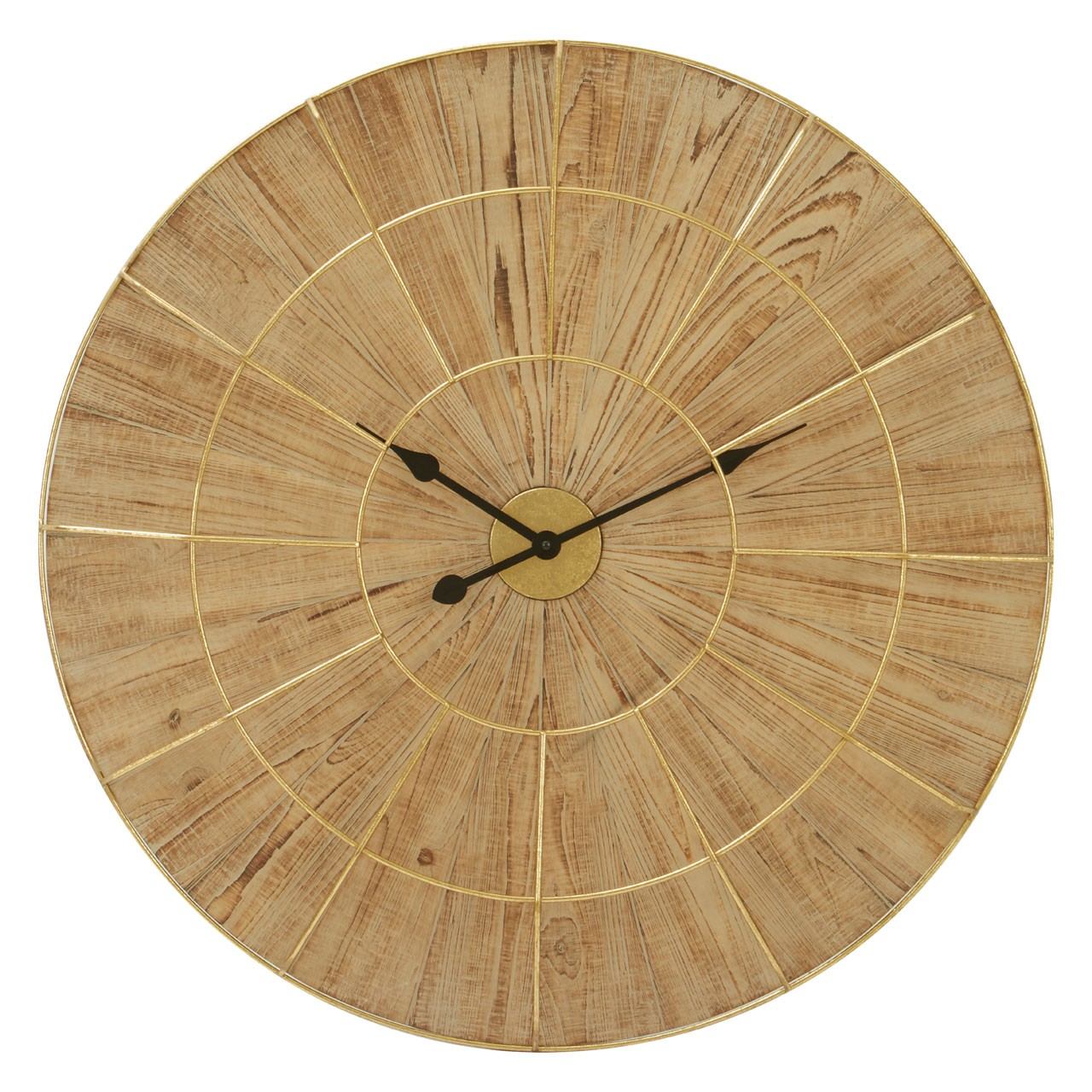 Yaxi Wall Clock With Natural Face