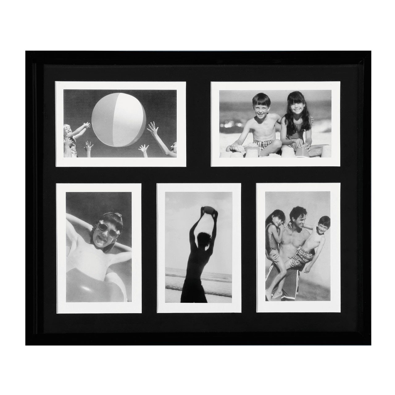 Premier Housewares Plastic 5 Picture Photo Frame
