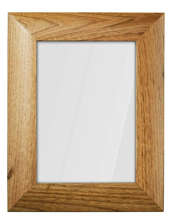 Premier Housewares Walnut Wood Photo Frame - 5 x 7 inch