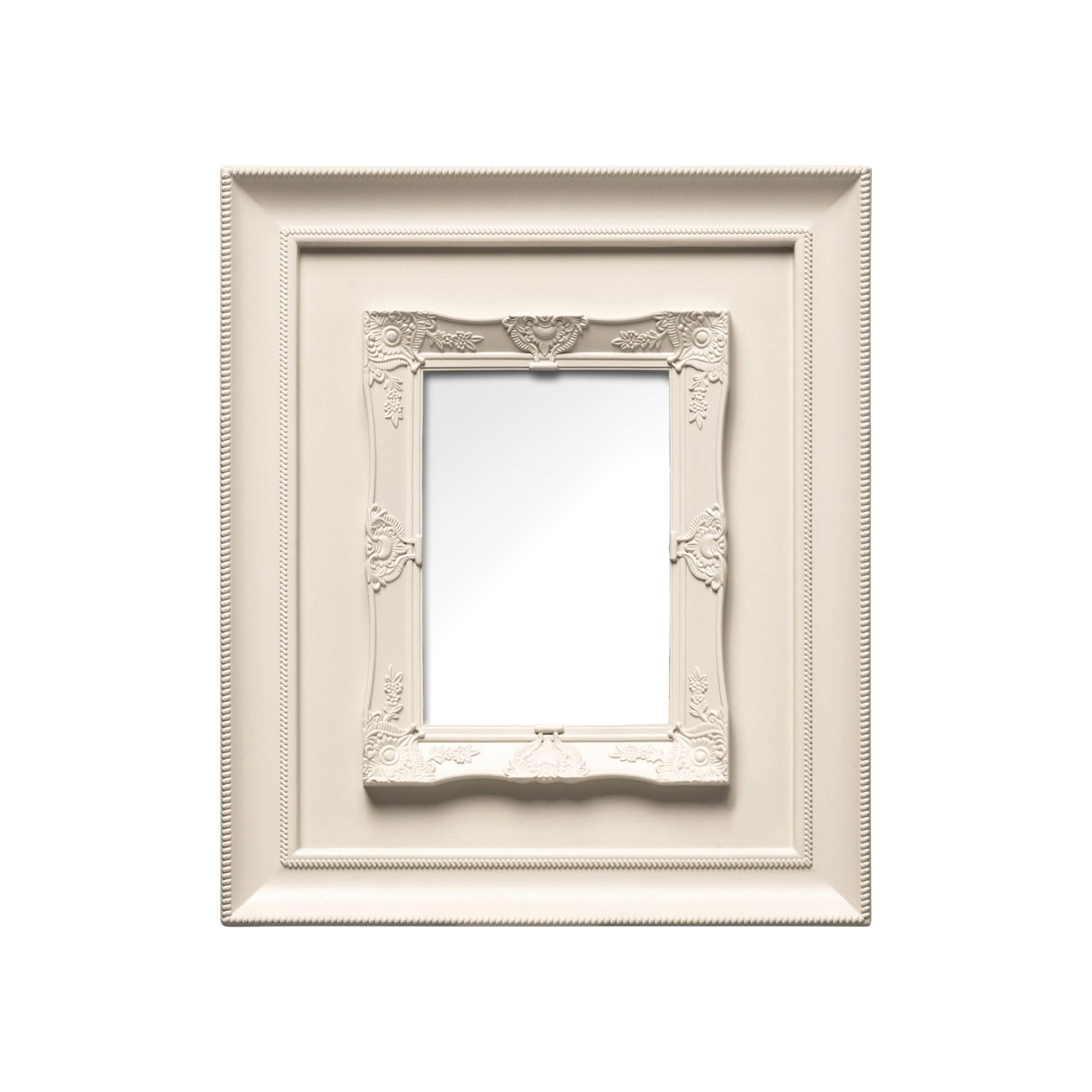 "Prime Furnishing Photo Frame, 5 x 7"" - Cream"