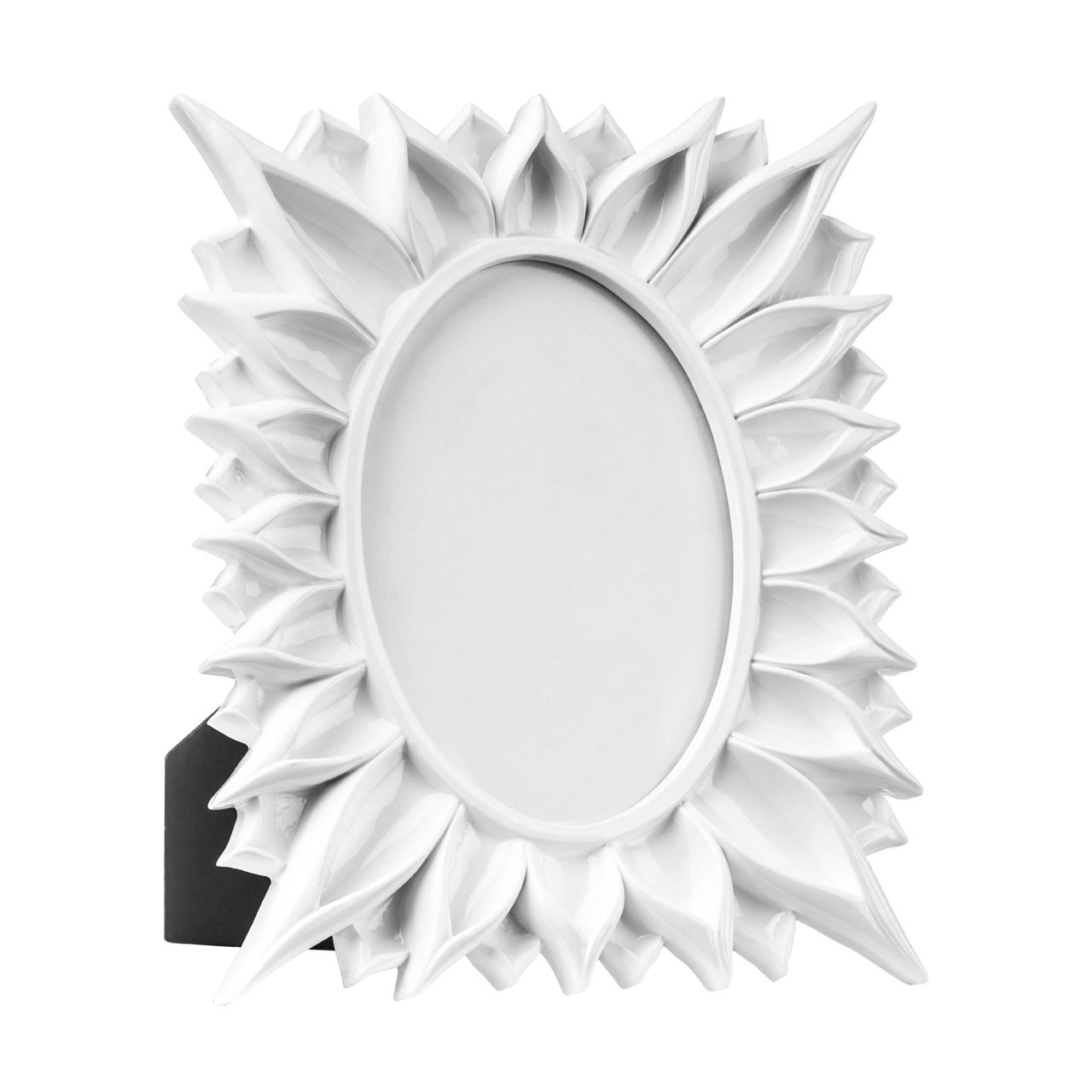 "Prime Furnishing Floral Photo Frame, 5 x 7"" - White"