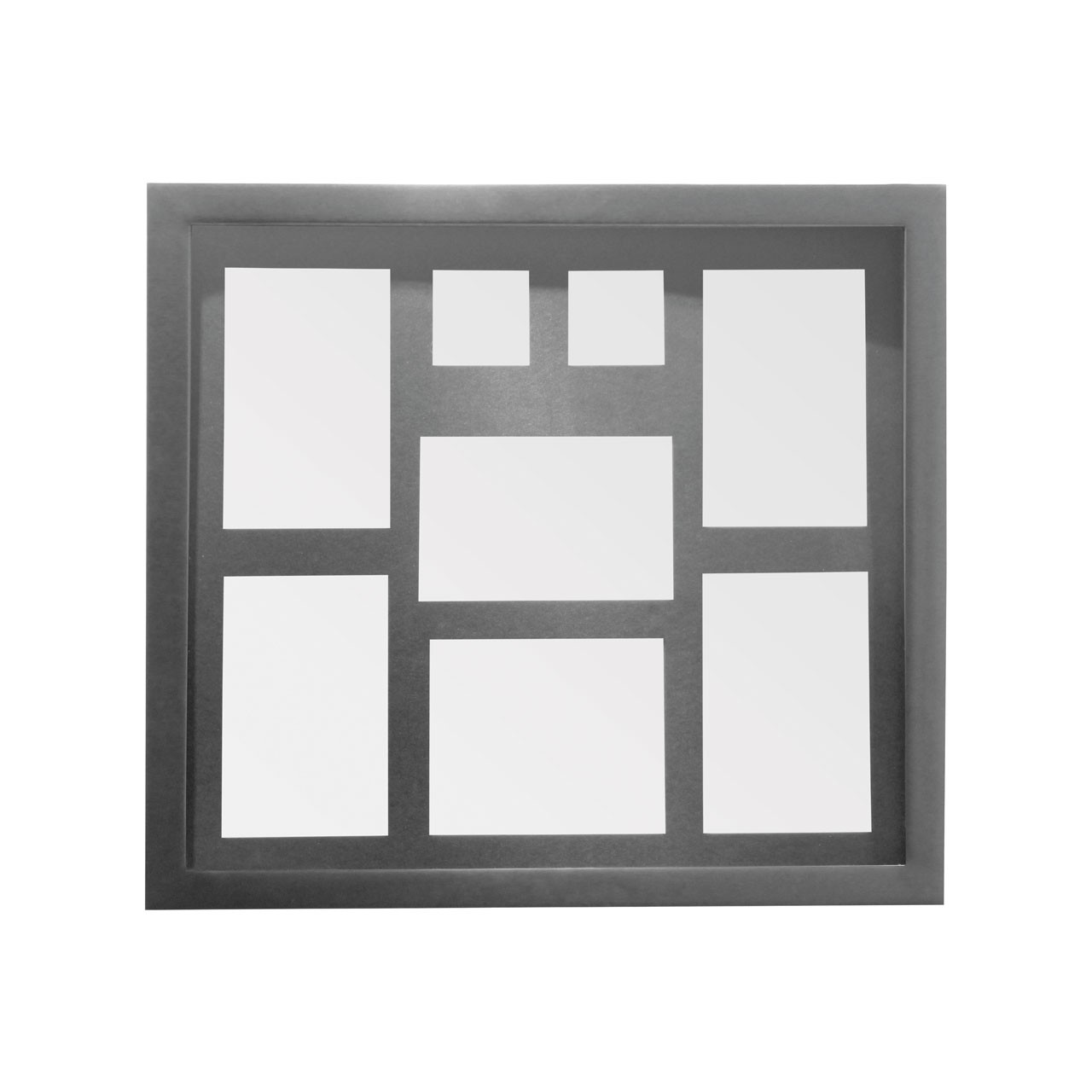 Prime Furnishing 8 Photos Multi Photo Frame - Silver