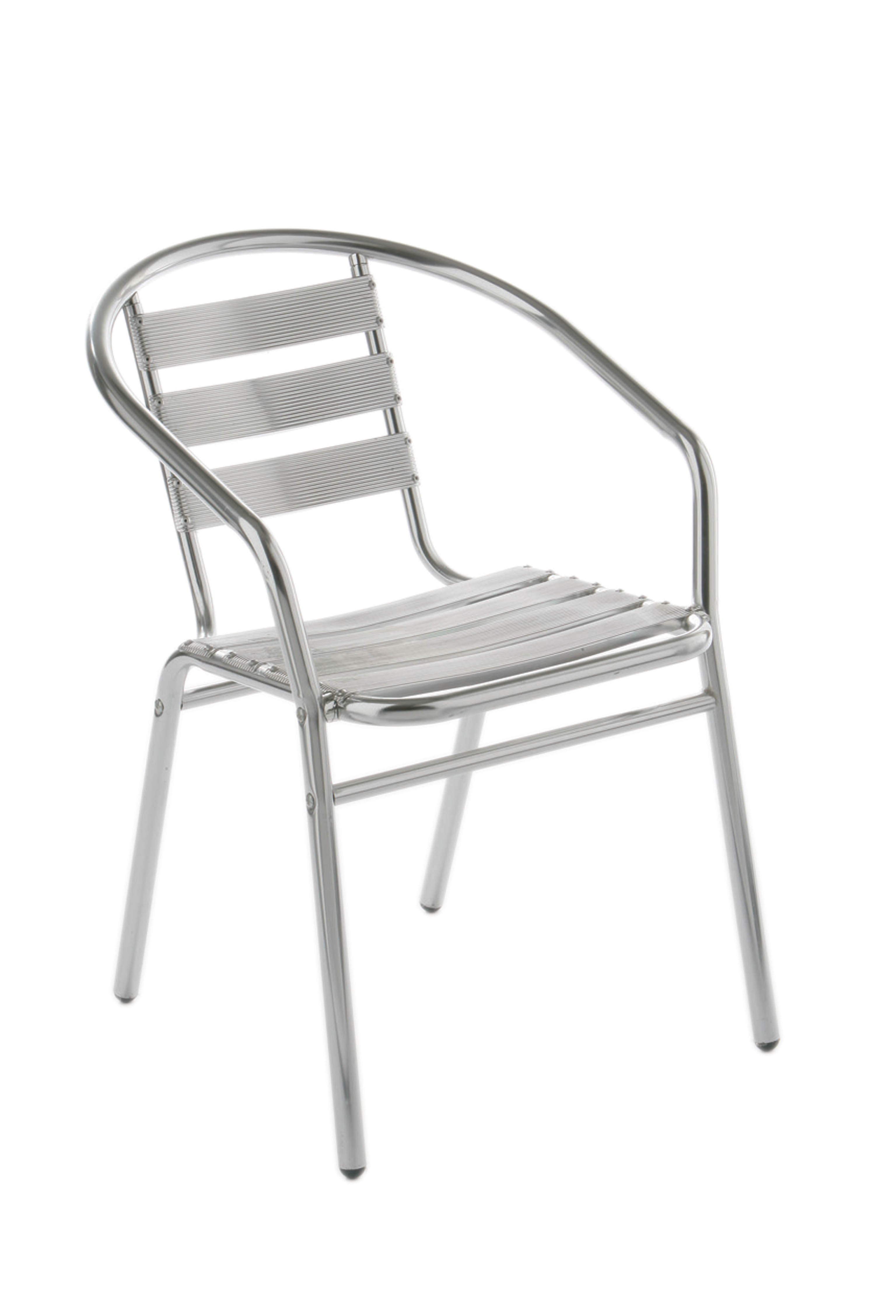 Aluminium Bistro Chair -Set Of 2
