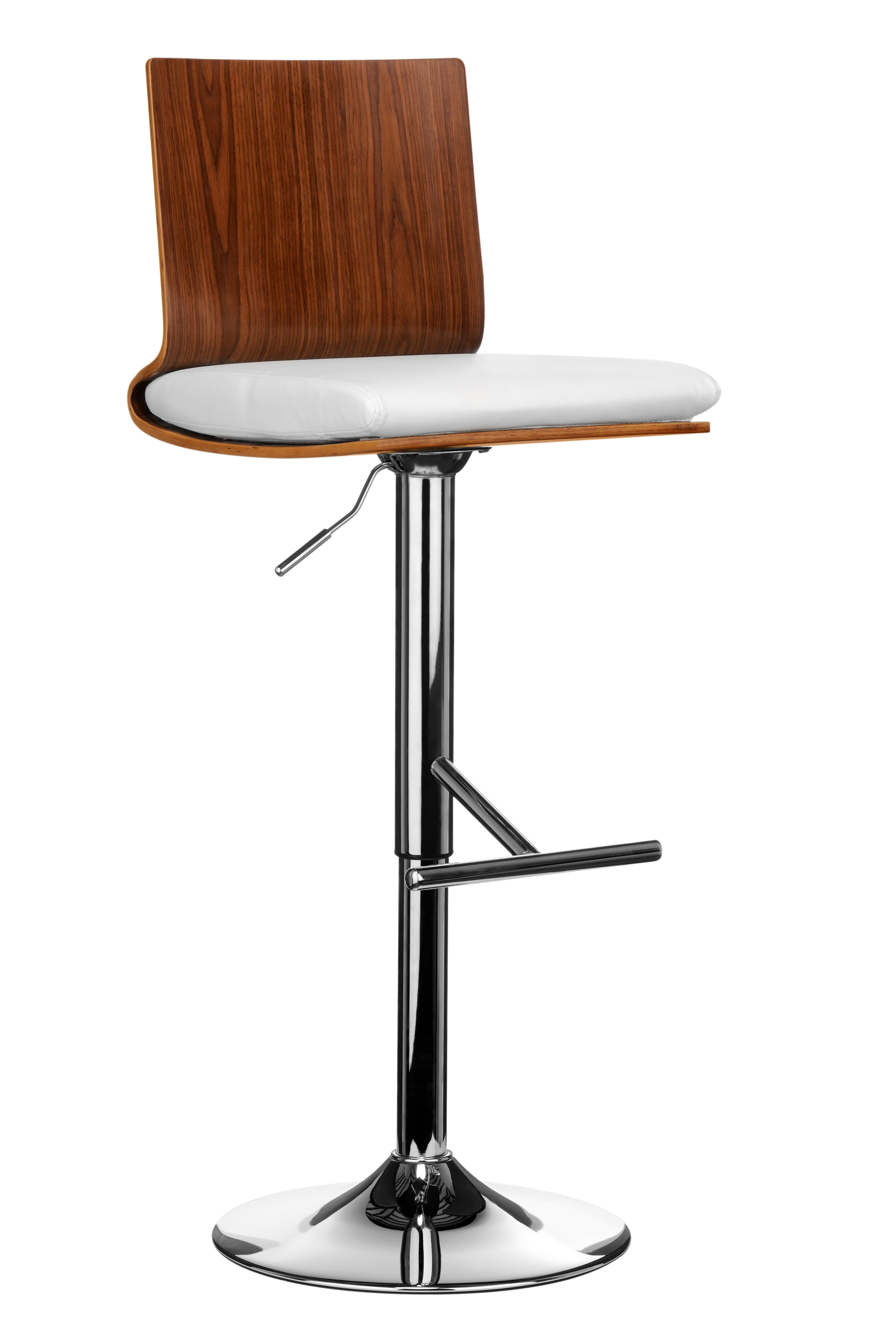 Bar Chair Sleek And Stylish Bar Chair Attractive Walnut Wood