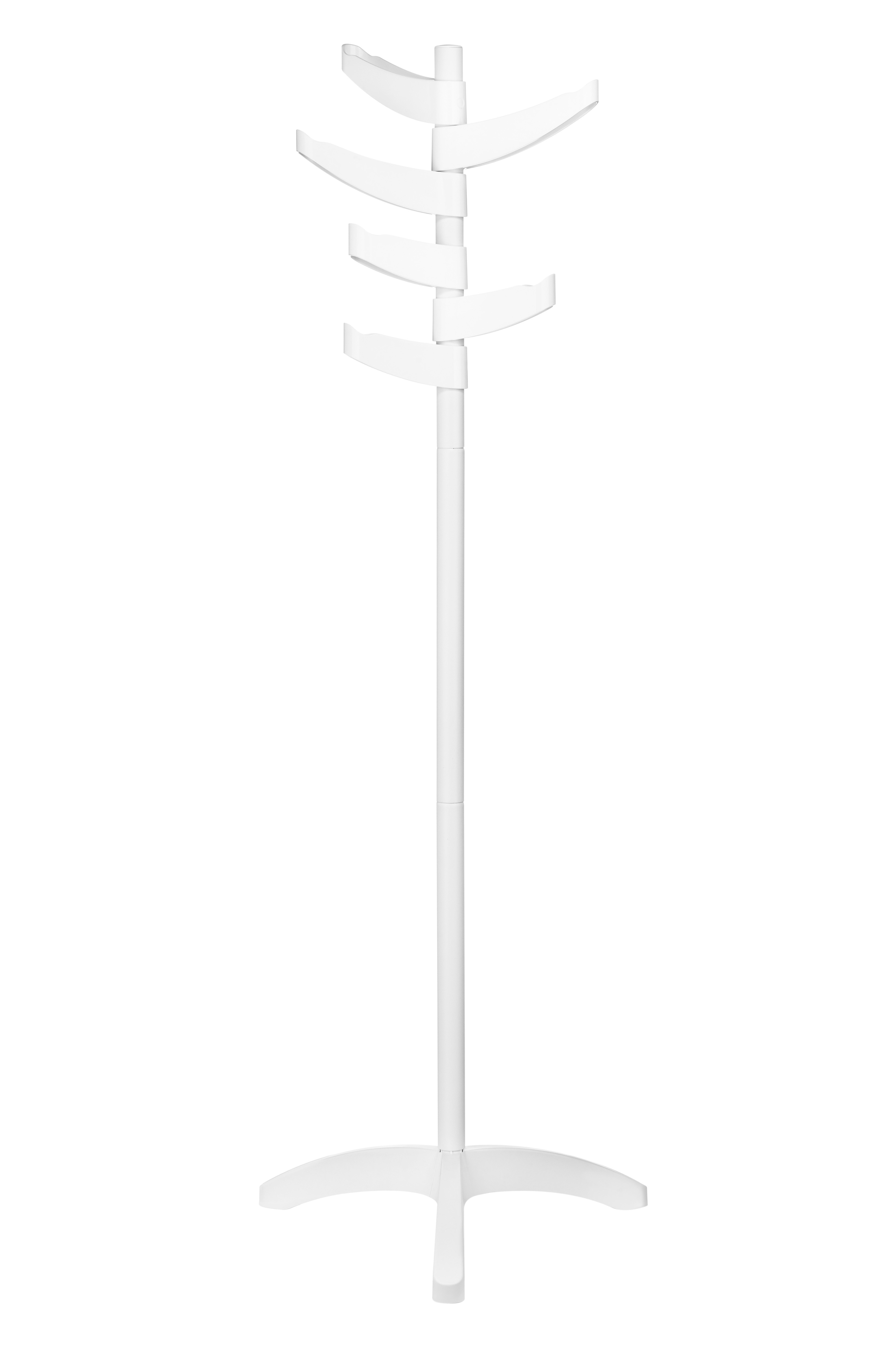 Prime Furnishing 6-Arm Coat Stand - White