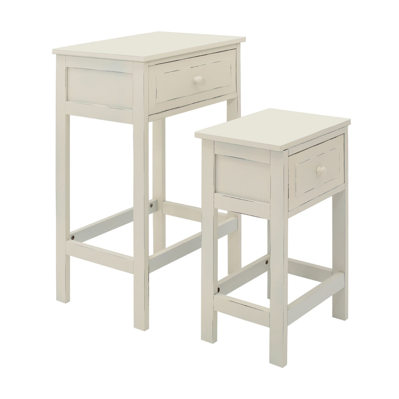 Chatelet Tables - Cream, Set of 2