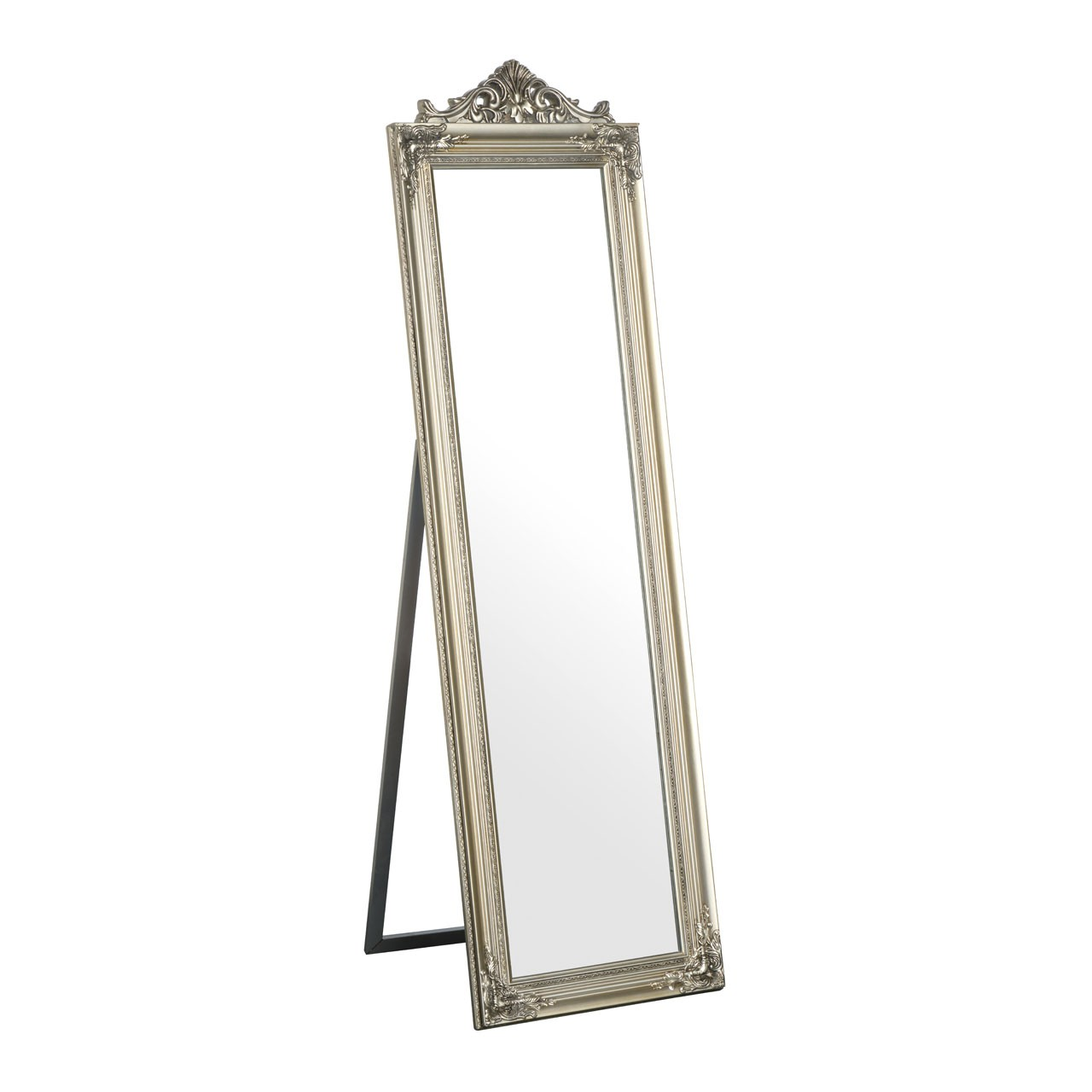 Prime Furnishing Boudoir Floorstanding Mirror - Silver